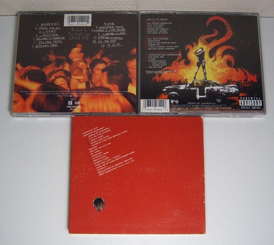 Green Day: 3 Titler, rock