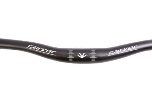 Double tarauds 640 mm Carver Downhill MTB Aluminium Guidon 31.8 mm 15 Mm Rise