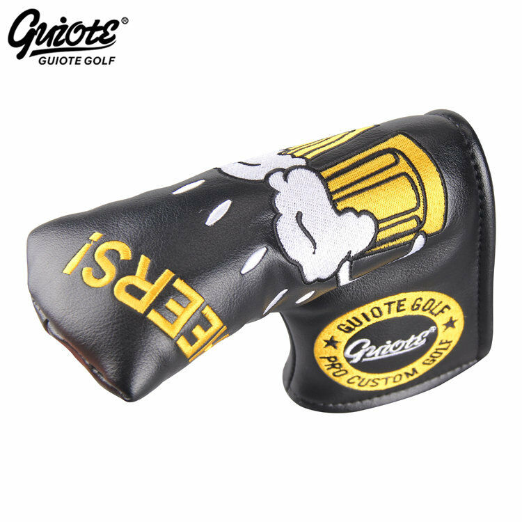 Guiote Beer -  brindemos  Putter cover negro amarillo blanco Limited Edition  New