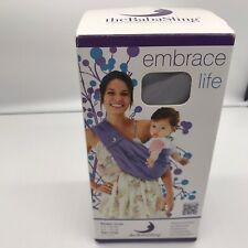 The BabaSling Baby Sling Baba Carrier Misty Rose Embrace 100/% Cotton 0-2 years