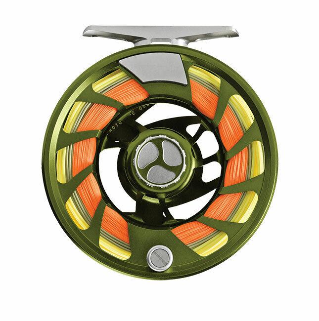 Orvis Mirage LT Dimensione IV 79wt REEL Coloreeee Olive