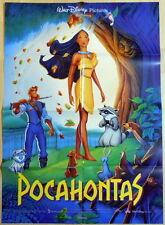 Walt Disney POCAHONTAS original vintage 1 sheet movie poster 1995