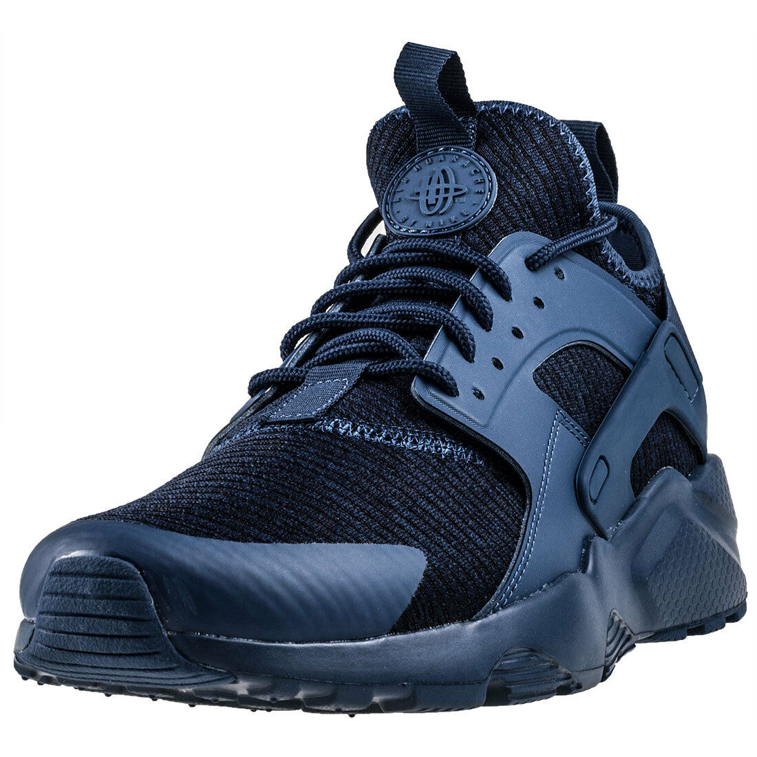 Mens Nike Air Huarache Run Ultra Se Textile & Synthetic Navy Shoes Trainers