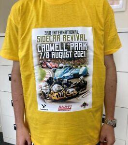 Cadwell Revival T-Shirt 2021 -  Dark Yellow Size Medium