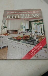 Kitchens-Creative-Ideas-For-Your-Home-1984-Vintage-Book