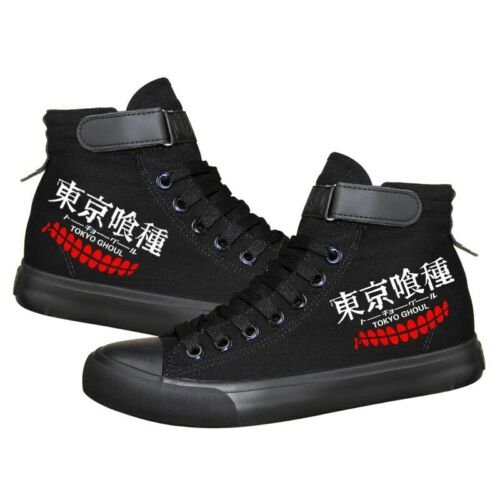 Tokyo Ghoul Canvas boots Casual Style Taste Exquisite pattern Custom sneakers
