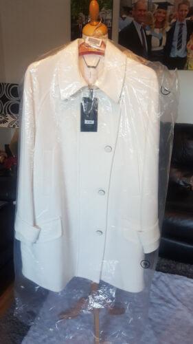 Conran Coat Solo Di 18 White Winter Stupendo Designer Debenhams Taglia Jasper wEXSP1xZq