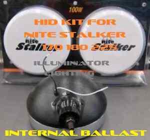 55w-AC-HID-Kit-for-Nite-Stalker-170-180-225-Lights-Fits-Internally-H1-Fast-Start