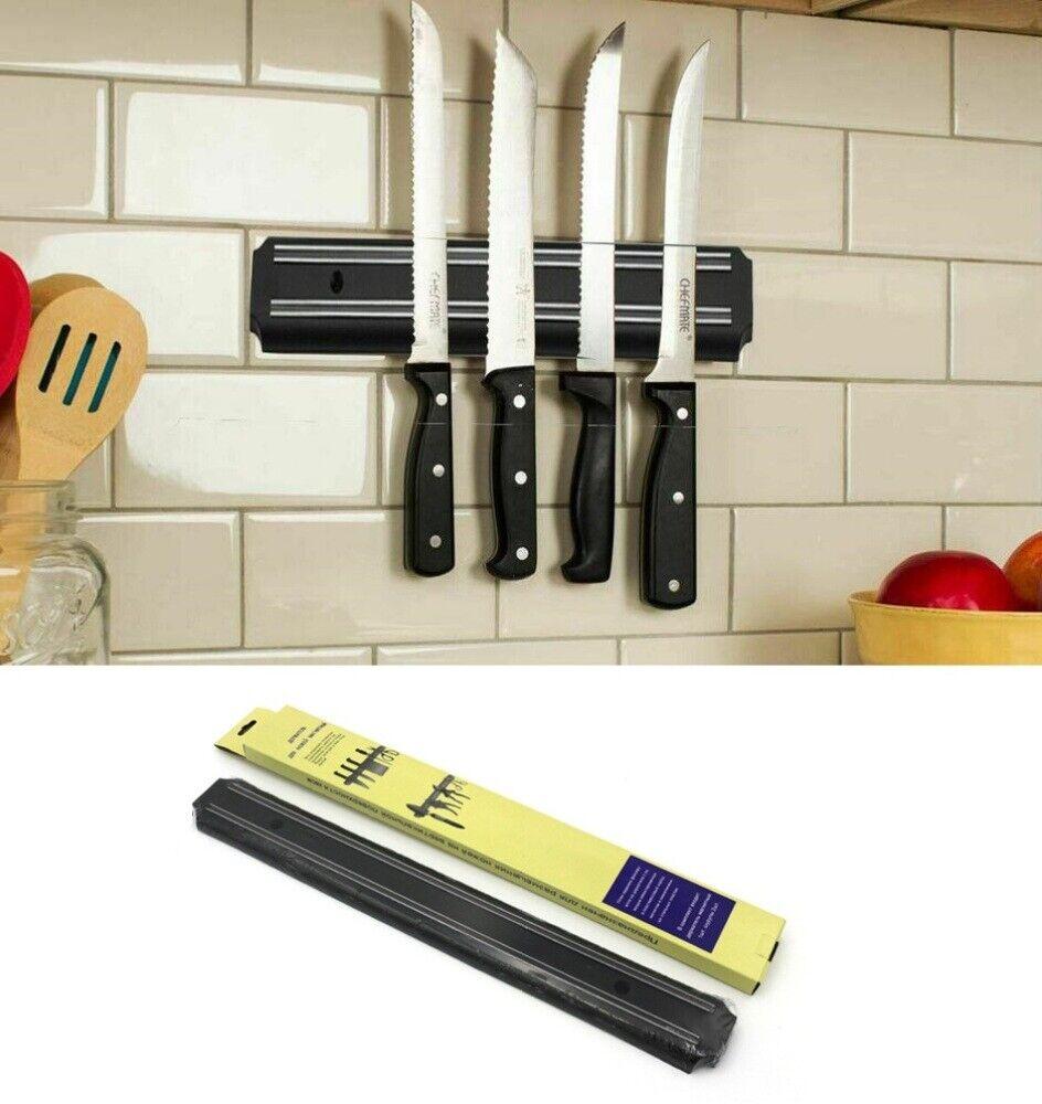 22'' Magnetic Wall Kitchen Knife Bar Holder Utensil Rack Heavy Duty Kitchen Chef