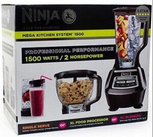 Brand New Sealed in Box Ninja MEGA Kitchen System 1500
