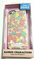 Little Twin Stars Kiki LaLa Heart Genuine Sanrio iPhone 5 hard case cover skin