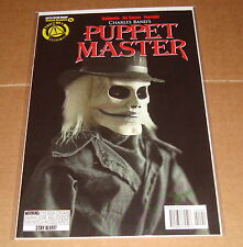 Charles Band's Puppet Master #1 Blade Limited Edition Photo Variant 1st Print