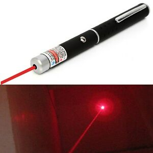 1pc-Luz-Rojo-Laser-Puntero-Lapiz-5miles-532nm-1-mW-Red-Laser-Pointer