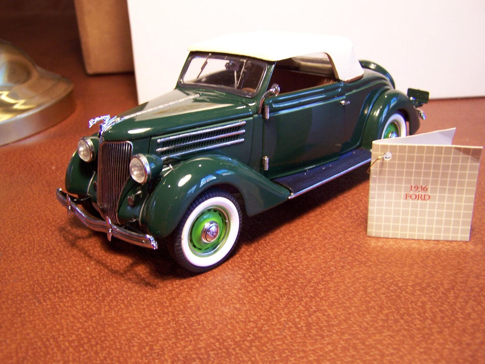 Franklin mint 1936 ford 24 mint in styropor - shell - docs oder kasten