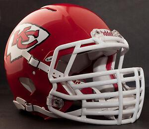 cae8bf3f09b Image is loading CUSTOM-KANSAS-CITY-CHIEFS-NFL-Riddell-Speed-AUTHENTIC-