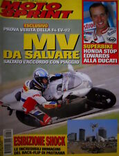 Motosprint 34 2002 Superbike: Honda stop Edwards alla Ducati. Foto Back-Flip