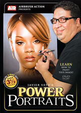 Airbrush Action DVD - Power Portraits - Javier Soto (2 Disc Set)