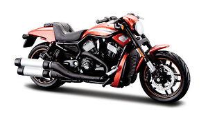 Harley-davidson 2012 Vrscdx Night Rod Special Orange Maßstab 1:18 Von Maisto