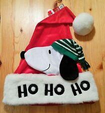 Snoopy  / Peanuts - Mütze Hut rot weiß grün Ho Ho Ho / Neu & OVP!!
