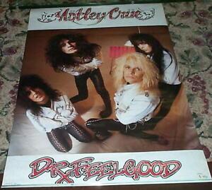 Motley-Crue-Dr-Feelgood-Grupo-Vintage-Poster
