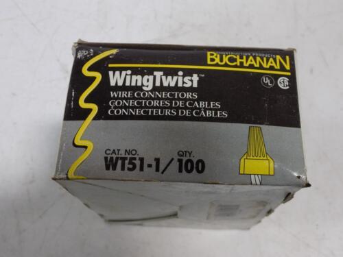 BUCHANAN WINGTWIST WIRE CONNECTORS NIB 100 IN BOX