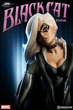 Marvel Spider-Man Black Cat J Scott Campbell Polystone Statue Sideshow