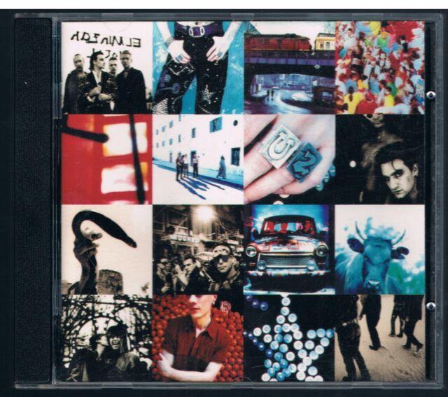 U2 ACHTUNG BABY CD FC GERMANY