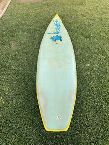 Vintage-6-6-Stussy-80-s-Thruster-Surfboard