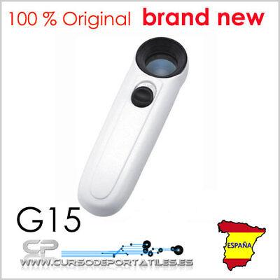 1 Stück Lupe Mg6b-1b 40x Mit Beleuchtung Led Elektronik Smd Y Schmuck Auf Der Ganzen Welt Verteilt Werden