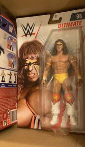 WWE-Wrestling-Basic-Series-98-Figure-Ultimate-Warrior-Brand-New