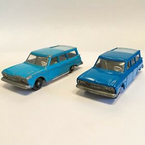 MATCHBOX-N-42-Studebaker-Lark-wagonaire-regolare-le-ruote-due-variazioni-di-colore