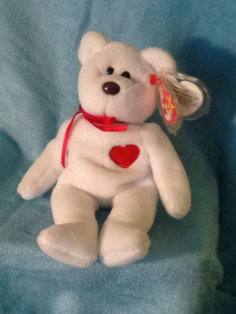 8a9de725c36 TY Beanie Baby with Tags - Valentino - 1993 94 - PVC - Multi Tag ...