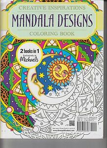 2 In 1 Book Michaels Exclusive Creative Inspiration Mandala Design ...