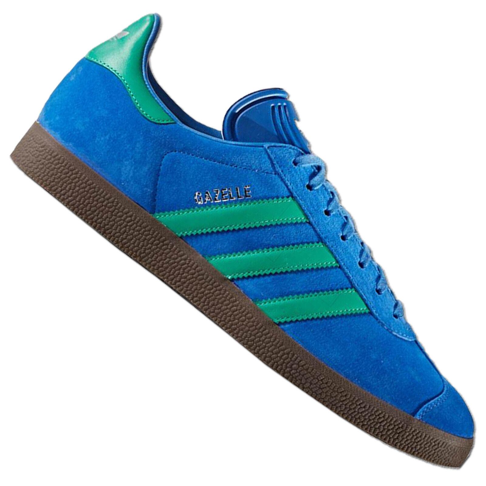 Adidas Originals Gazelle Women's Sneakers Bb2755 Suede Trainers bluee Green