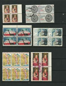 USA-Unique-Selection-of-Stamp-Blocks-3-SCANS-3196