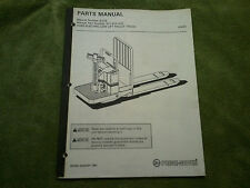 Prime Mover Electric Low Lift Pallet Truck HX-65   Parts Manual