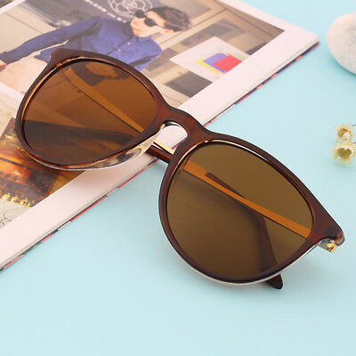 Unisex Womens Mens Retro Vintage Cat Eye Round Glasses Metal Frame Sunglasses IG