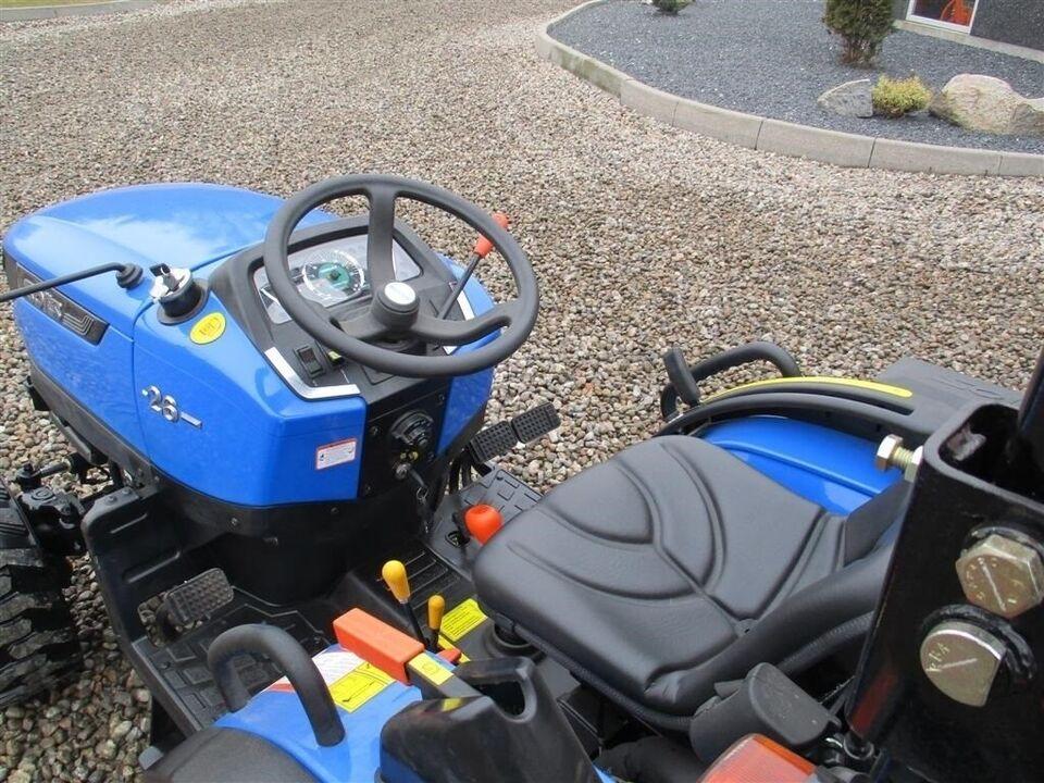 Solis, 26 Facelift model og Industri hjul