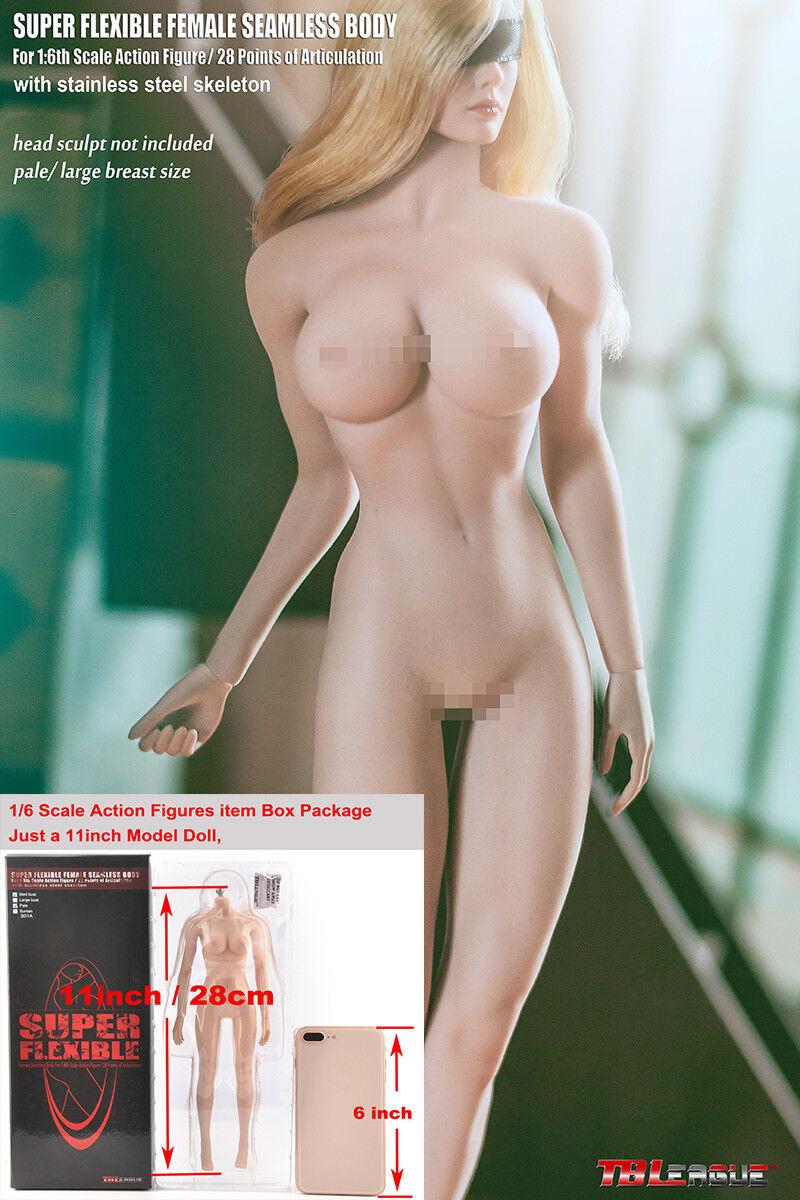 TBLeague grosse bête Souple Sans Couture 1 6 pâle corps Figure S20A