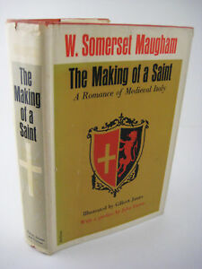1st-Edition-thus-THE-MAKING-OF-A-SAINT-W-Somerset-Maugham-ILLUSTRATED-Classic