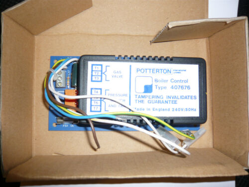 Potterton Netaheat Flame Monitor Control Board Pcb 407676  8407676  GC No 336708