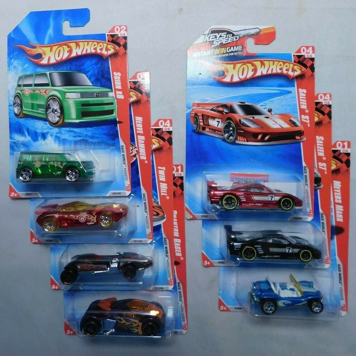 Lot of 23 from Hot Wheels 2000 Virtual Collection MIP