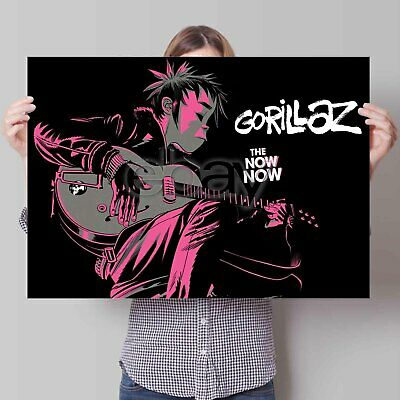 Gorillaz Custom Poster Print New Art Personalized Wall Decor