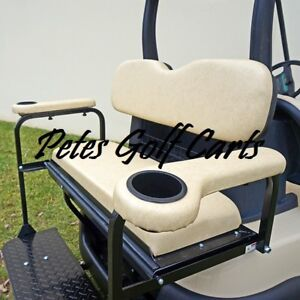 Golf Cart Rear Seat Kit Arm Rest Set With Cup Holders ALL COLORS | Golf Cart Holders on tank holder, dryer holder, golf card holder, car holder, golf camera holder, wheel holder, computer holder, golf sign holder, fan holder, tv holder, golf bag holder, chain saw holder,