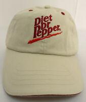 Diet Dr Pepper Hat Cap Adjustable Strapback By Captiv8 Pepper Time One Of A Kind