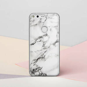 finest selection a26dd 566cb Details about White Marble Case For New Google Pixel 3A XL Rubber Gel Cover  Pixel 2 3 XL Snap
