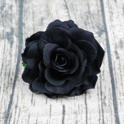 10//20Pcs Artificial Fake Flower Heads Bulk//Lot Silk Large Rose Craft Home Decor
