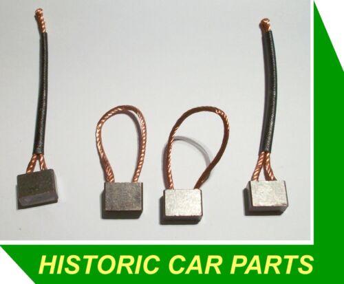 Starter Motor Brushes for VANDEN PLAS PRINCESS 4.0 DM4 1952-68 to replace 255659