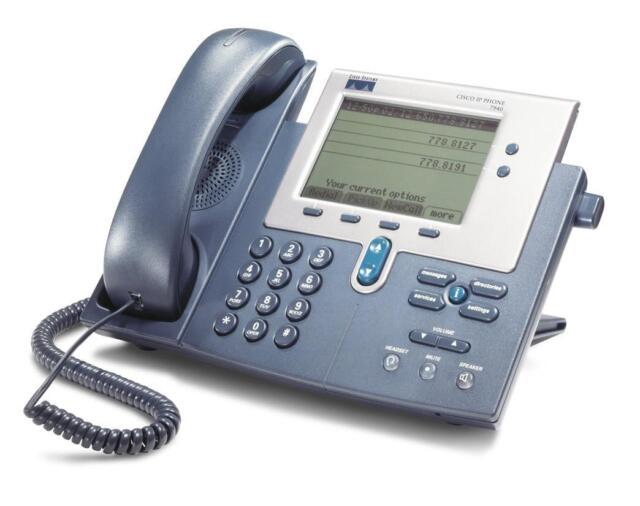 CISCO 7940 G téléphone IP, CP-7940 Multi-line IP Téléphone 7940