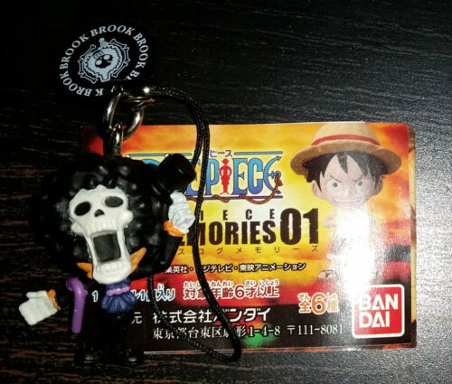 Portachiavi strap portacellulare One Piece Collection Bandai originali